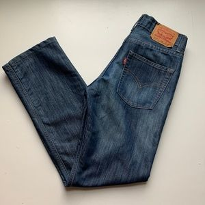 Youth Levi's 514 Straight Medium Wash Size 14